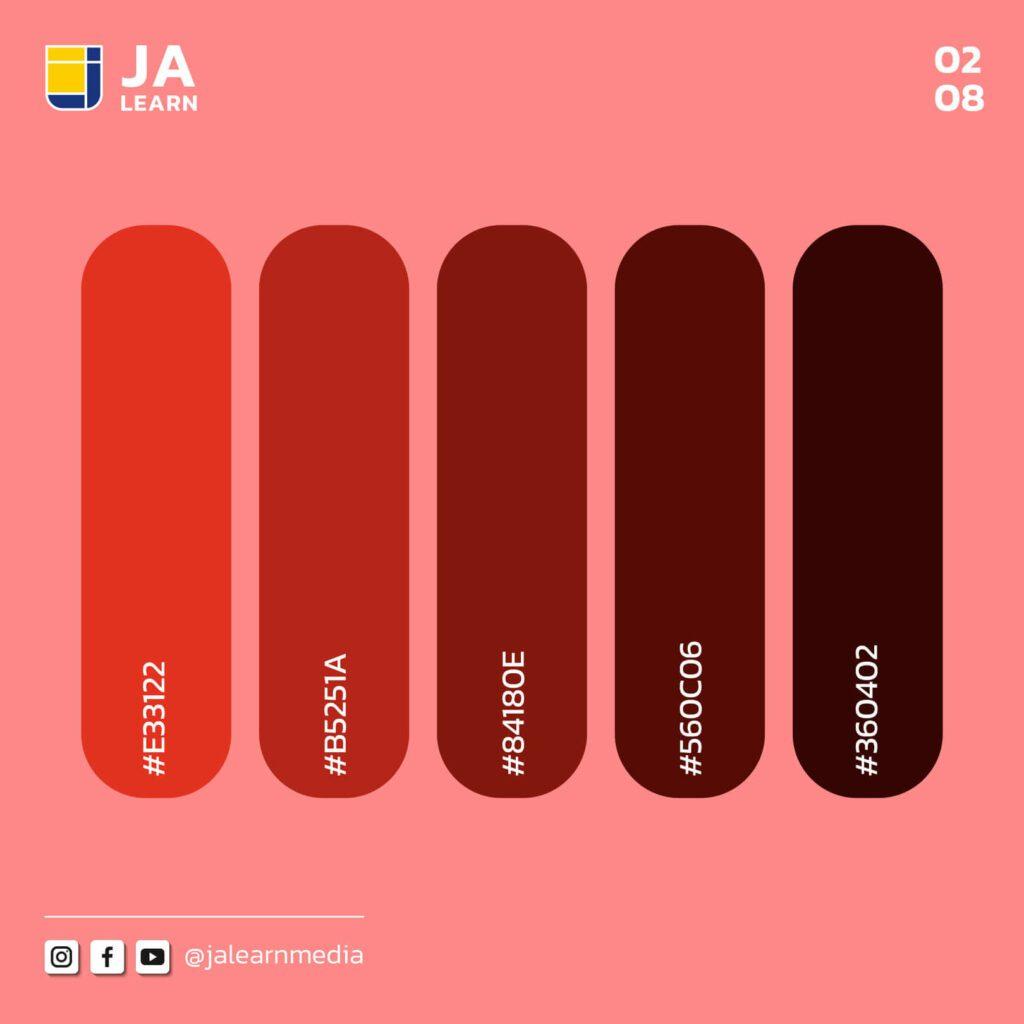Color_โทนสีแดง 2